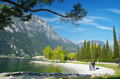 lago di garda Италии Стоковое фото RF