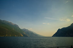 Lago di Garda. Biggest Italy's Lake Garda Stock Photography