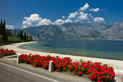 Lago di Garda Immagine Stock Libera da Diritti