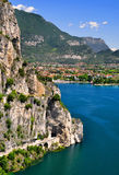 Lago di Garda. Largest Italian lake,North Italy Stock Images