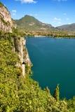 Lago di Garda Foto de Stock Royalty Free