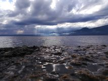 Lago di Garda Stockfotografie