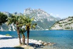 Lago di Garda Beach Stock Photo