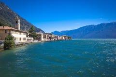 Lago di Garda Gargnano. Village of Gargnano Lake Garda Italy Royalty Free Stock Images