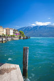 Lago di Garda Gargnano Royalty Free Stock Photos
