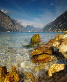 Lago di Garda - Italia imagen de archivo