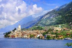 Lago di Garda, Italia Foto de archivo libre de regalías