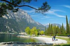 Lago di Garda, Italia Fotografia Stock Libera da Diritti