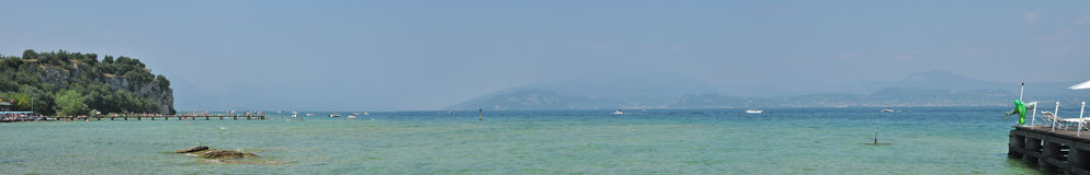 Lago di Garda, Italia Imagen de archivo