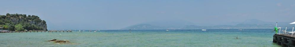 Lago di Garda, Italien stockbild