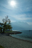 Lago Di Garda, Italy. Royalty Free Stock Photo