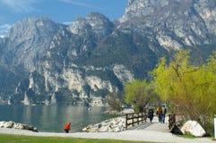 Lago Di Garda, Italy. Royalty Free Stock Photos