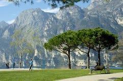 Lago Di Garda, Italy. Stock Images