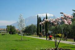 Lago Di Garda, Italy. Stock Photo