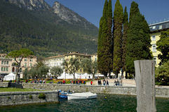 Lago Di Garda, Italy. Royalty Free Stock Photo