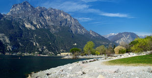 The Lago Di Garda, Italy. Stock Photo