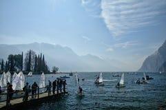 Lago Di Garda, Italy. Royalty Free Stock Image