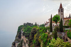 Lago di Garda (Lake Garda), Tremosine Stock Photo