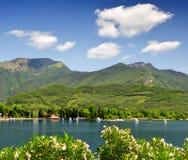Lago di Garda. Largest Italian lake,North Italy Royalty Free Stock Photography