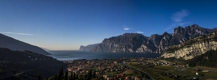 Lago di Garda, policier de lac arco Italie Photo libre de droits