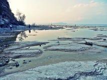 Lago di garda shore Stock Images