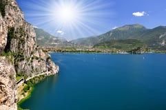 Lago di Garda Royaltyfria Foton