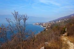 Lago di Garda - Torri del Benaco Italy lizenzfreie stockfotos