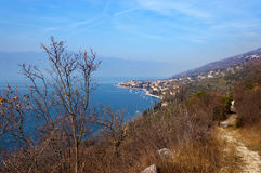 Lago di Garda - Torri del Benaco Italy Royalty Free Stock Photos