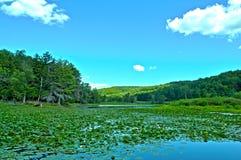 Lago di HDR Fotografie Stock
