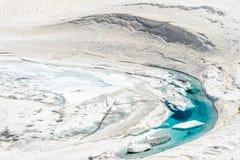 Lago di icey di Tateyame Fotografie Stock Libere da Diritti