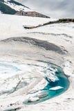Lago di icey di Tateyame Fotografie Stock