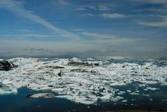 Lago di Jokulsarlon, a sud dell'Islanda Immagine Stock Libera da Diritti