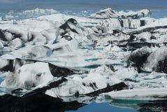 Lago di Jokulsarlon, a sud dell'Islanda Fotografia Stock Libera da Diritti