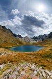Lago di Lauzanier Fotografia Stock