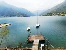 Lago di Ledro Immagini Stock Libere da Diritti