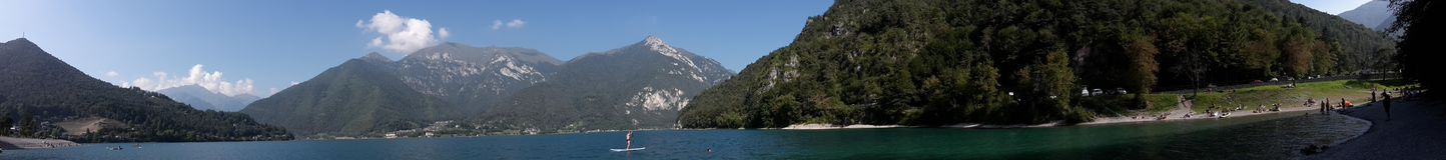 Lago Di Ledro Royalty-vrije Stock Fotografie