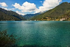 Lago di Ledro. royalty free stock photos