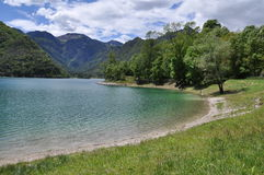 Lago di Ledro, Italy Royalty Free Stock Images