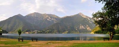 Lago di Ledro, lago Ledro Fotografía de archivo