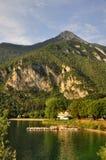 Lago di Ledro,lake Ledro Royalty Free Stock Images