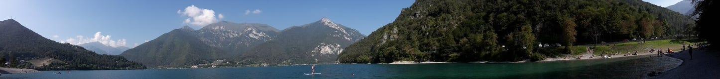 Lago di Ledro royalty free stock photography