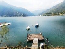 Lago di Ledro royalty free stock images