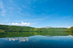 Lago di Levico Royalty Free Stock Images
