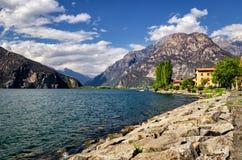 Lago di Mezzola (Italy) Stock Photos