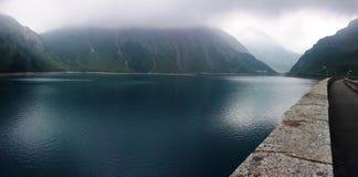Lago Di Morasco意大利 免版税库存图片