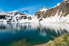Lago di Morasco. Formazza, Piedmont, Italy Stock Photography