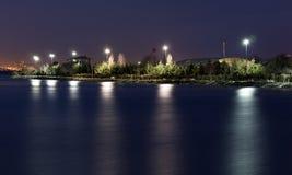 Lago di notte immagine stock libera da diritti