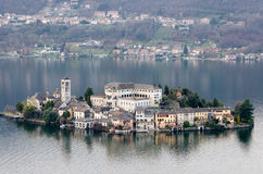 Lago di Orta Isola di San Giulio Royalty Free Stock Photos