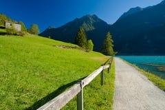 Lago di poschiavo Stock Photo