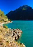 Lago di poschiavo Royalty Free Stock Photos